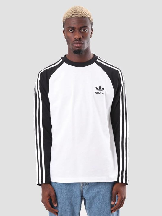 adidas 3-Stripes Longsleeve Black CW1228