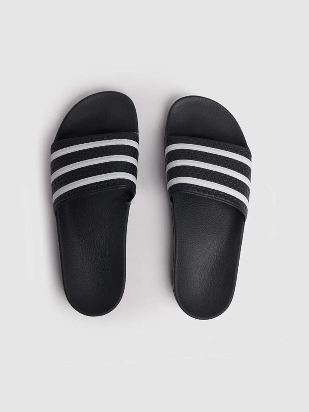 adidas adidas Adilette Black White 280647