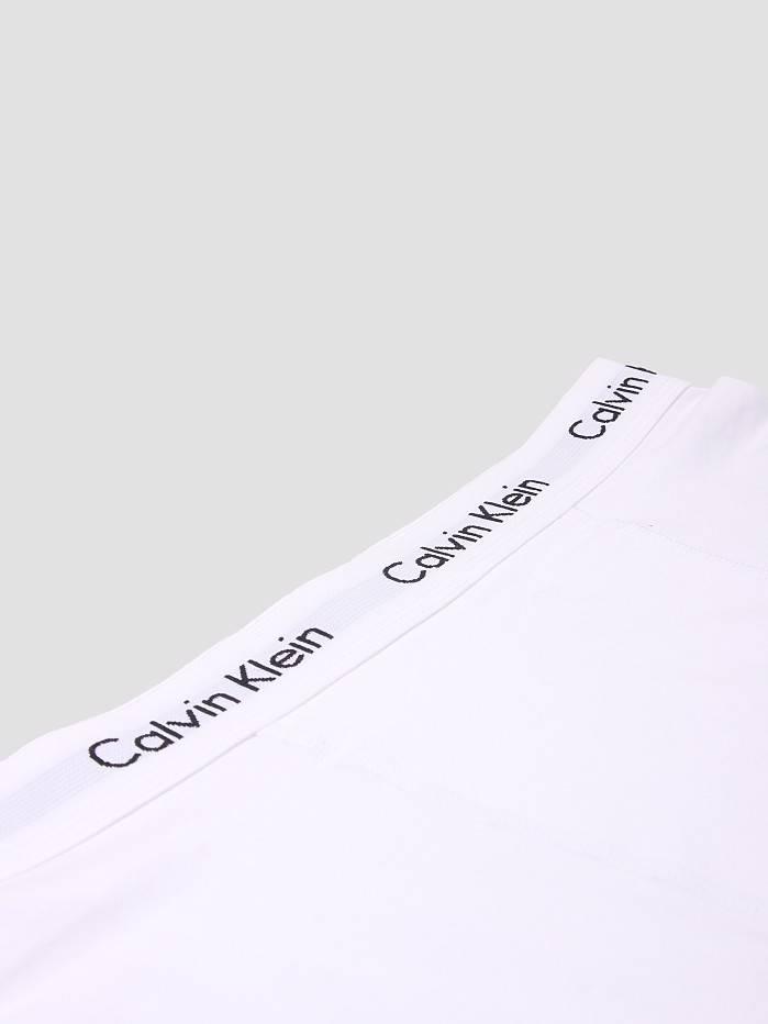 Calvin Klein Calvin Klein 3 Pack Cotton Stretch Trunk White U2662G
