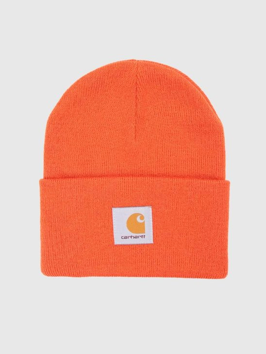 Carhartt Acrylic Watch Hat Persimmon I020222-89200