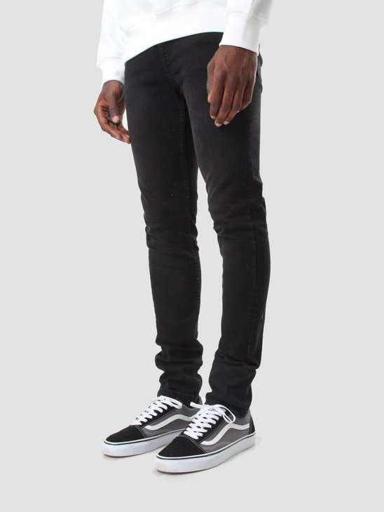 Cheap Monday Tight Denim Jeans Black Haze 0356733