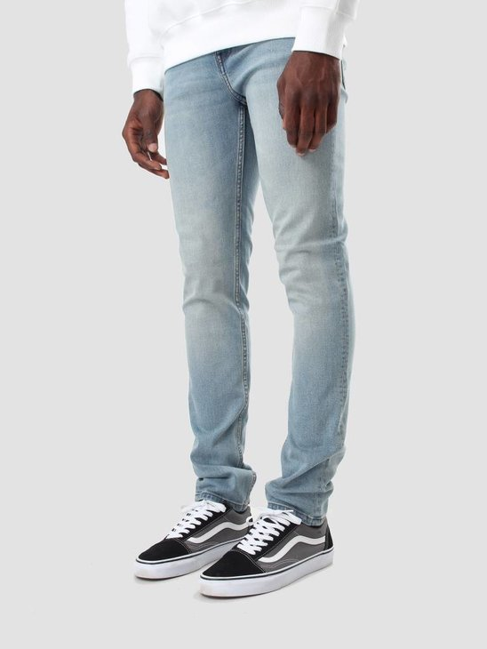 Cheap Monday Tight Denim Jeans Stonewash Blue 0207463