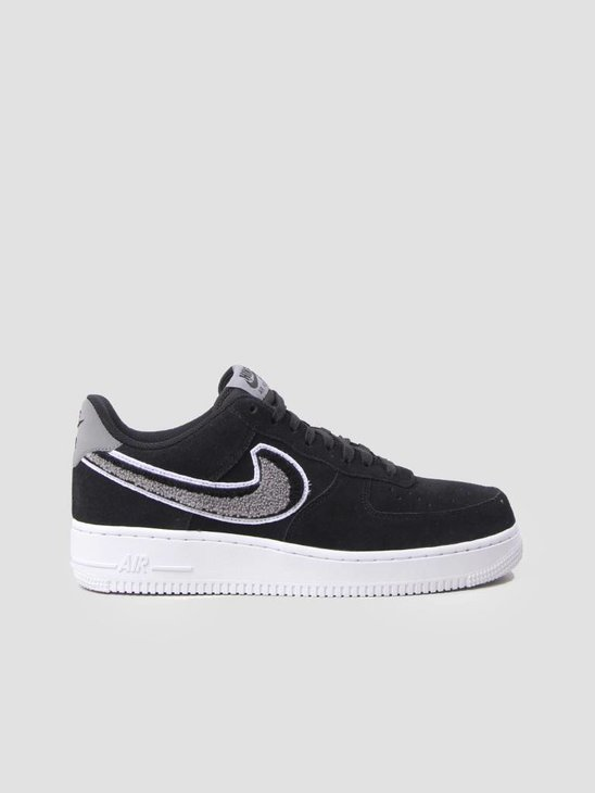 Nike Air Force 1 07 LV8 Shoe Black White-Cool Grey-White 823511-014