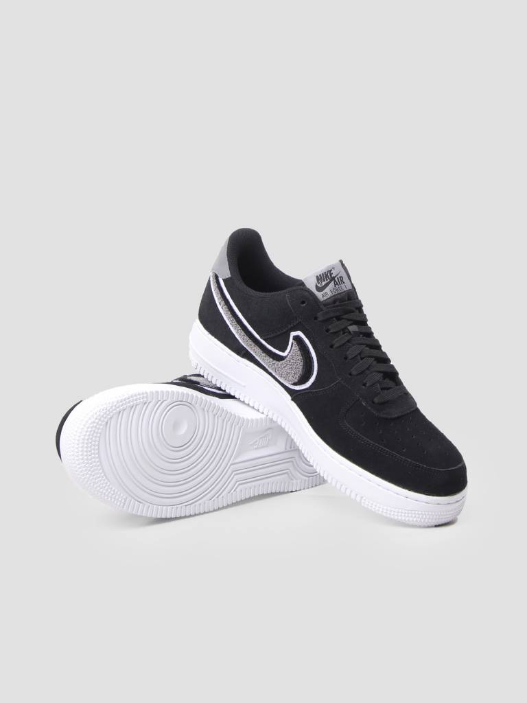 Nike Nike Air Force 1 07 LV8 Shoe Black White-Cool Grey-White 823511-014