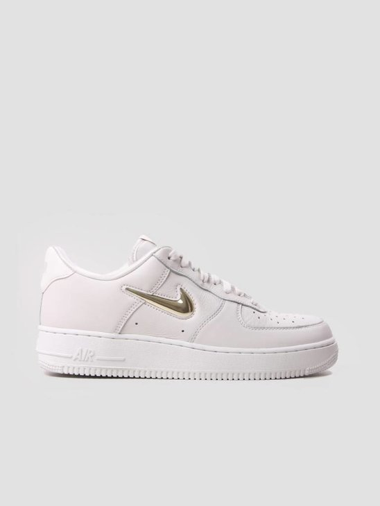 Nike Air Force 1 07 Premium LX Phantom Mtlc Gold Star-Summit White AO3814-001