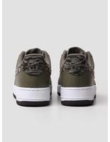 Nike Nike Air Force 1 AOP PRM Medium Olive Khaki-Velvet Brown-White Aq4131-200