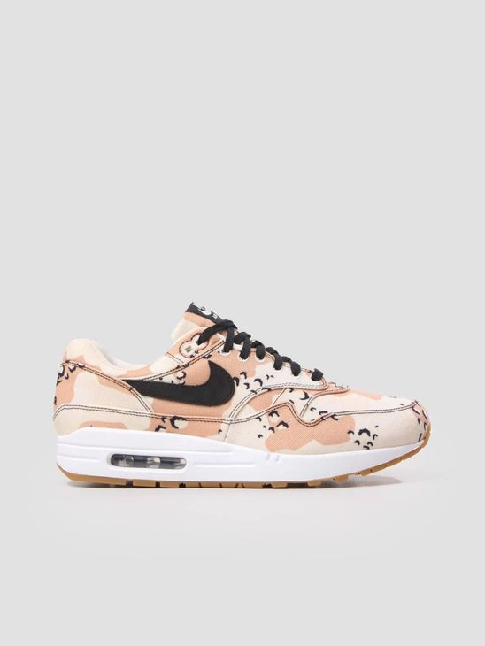 Nike Air Max 1 Premium Shoe Beach Black-Praline-Light Cream 875844-204