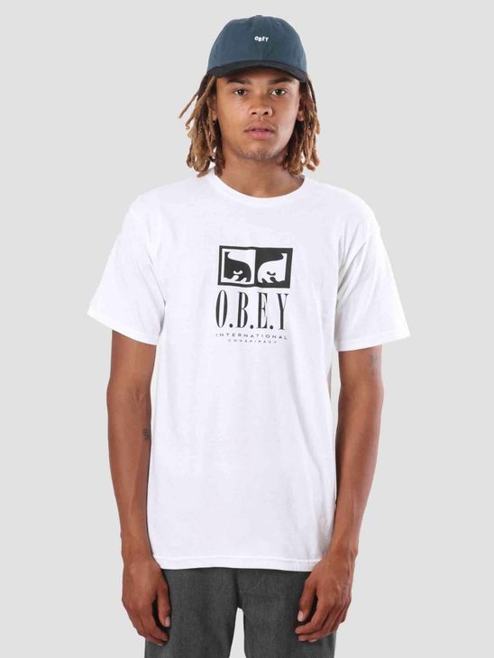 Obey Obey Int Conspiracy T-Shirt White 163081790