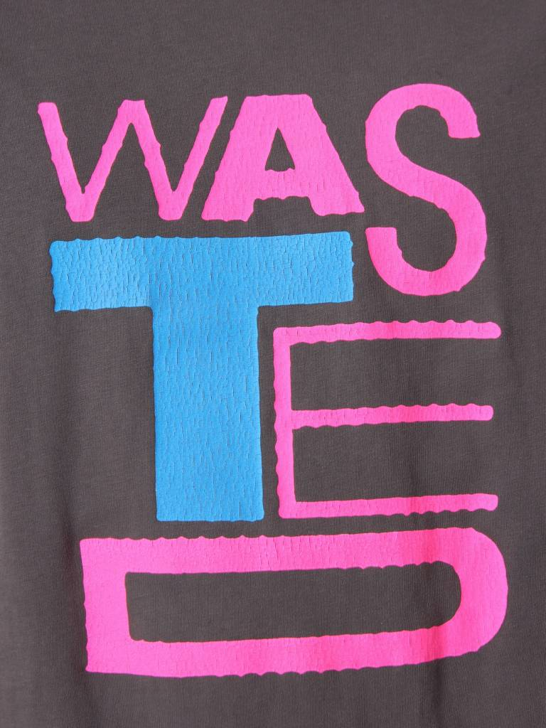 Obey Obey Obey Wasted Youth Superior Pigment T-Shirt Dusty Black 166521735