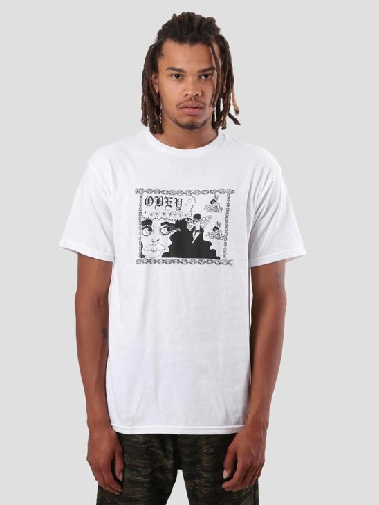 Obey Obey Yourself T-Shirt White 163081836