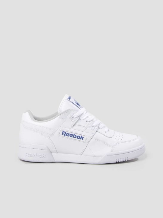 Reebok Workout Plus White Royal 2759