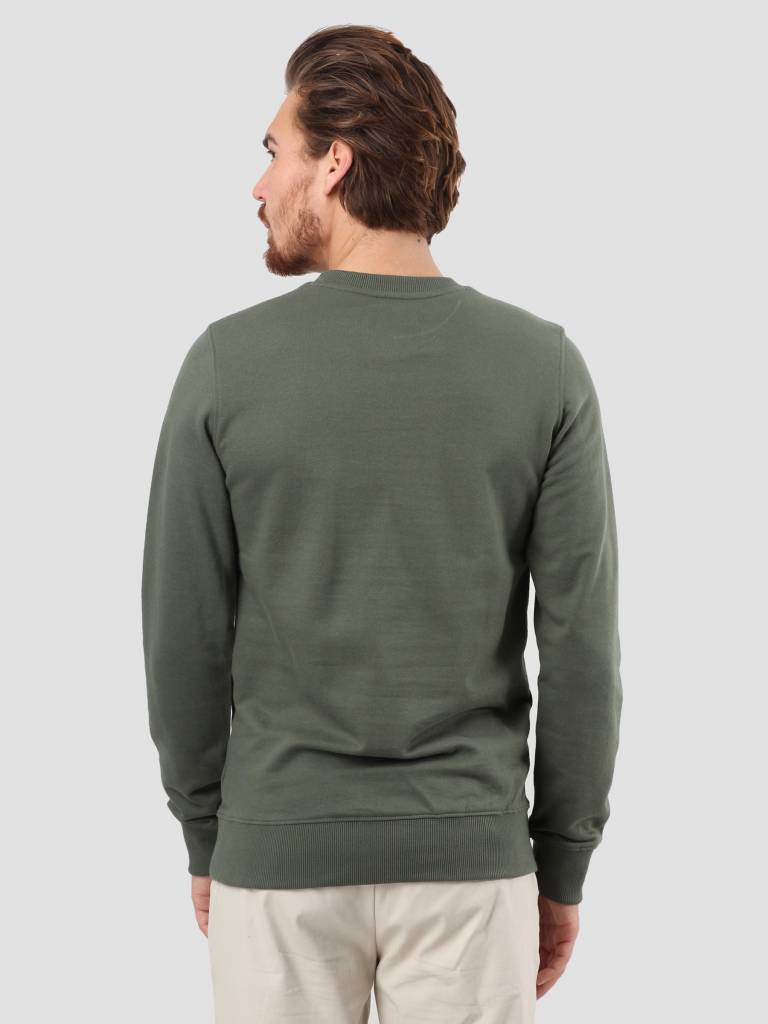 RVLT RVLT 3D Effect Print Sweater Army 2539 Wag