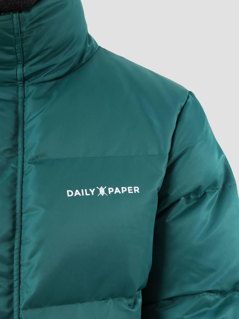 Daily Paper Daily Paper Core Puffer Dark Petrol 18F1OU04 - Copy