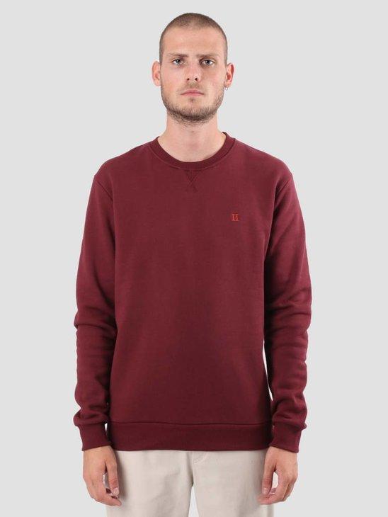 Les Deux Norregaard Sweatshirt Burgundy LDM200007