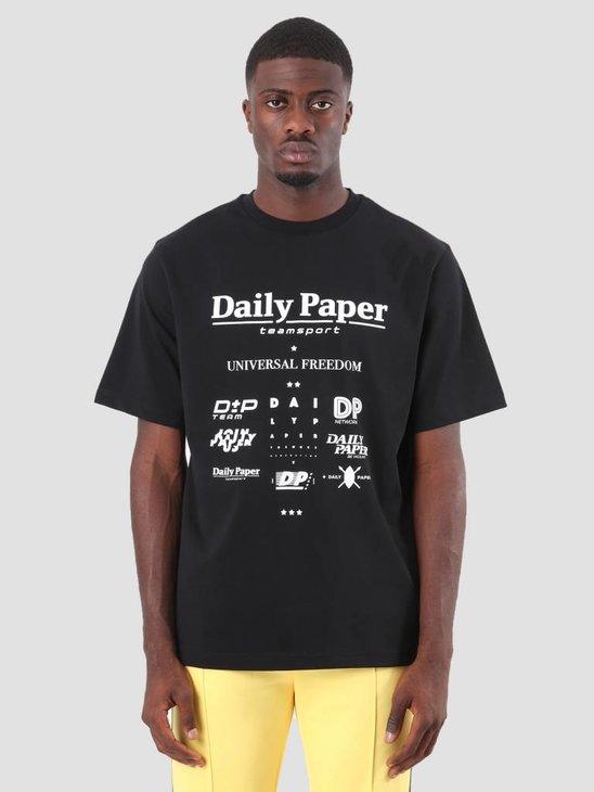 Daily Paper Debis T-Shirt Black 18F1TS08