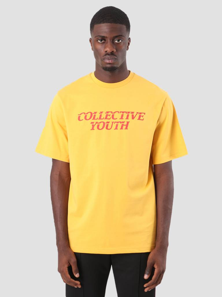 Daily Paper Daily Paper Dim T-Shirt Yellow 18F1TS13