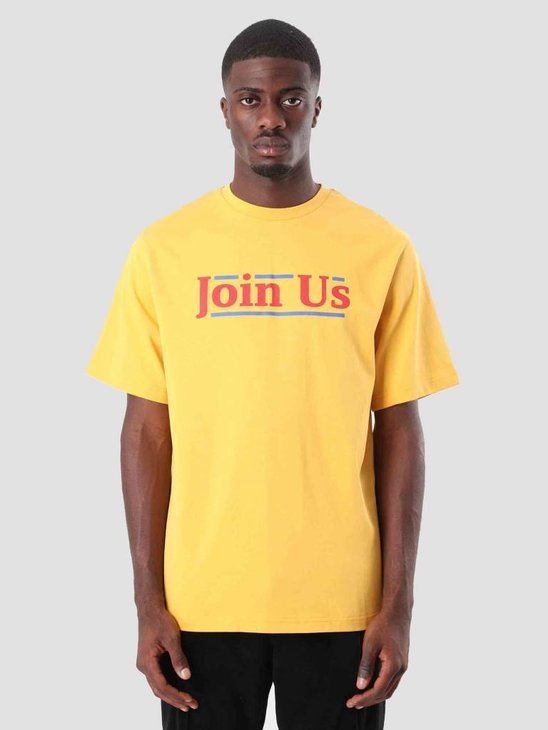 Daily Paper Doin T-Shirt Yellow 18F1TS17