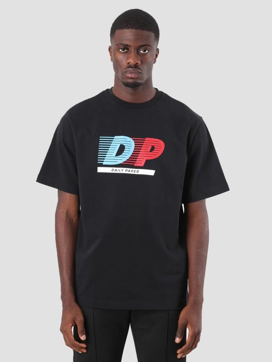 Daily Paper Donnie T-Shirt Black 18F1TS06