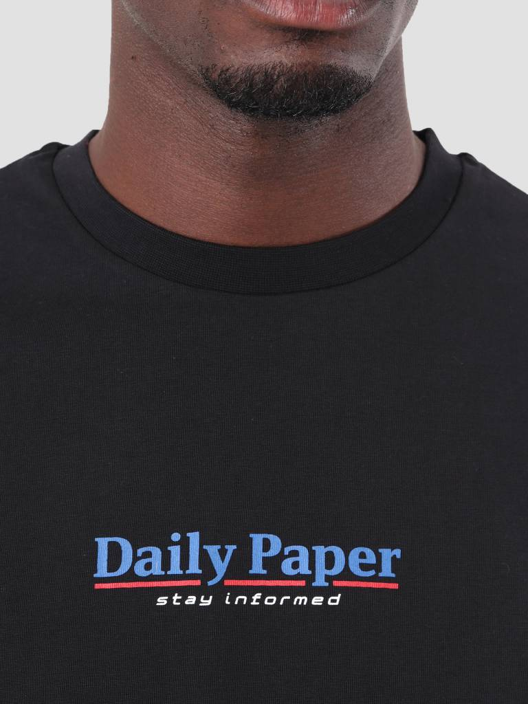 Daily Paper Daily Paper Duk T-Shirt Black 18F1TS03