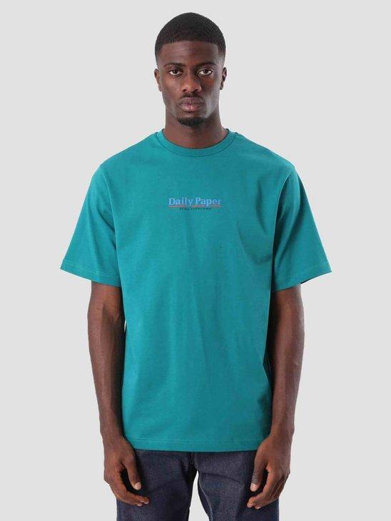 Daily Paper Duk T-Shirt Dark Petrol 18F1TS02
