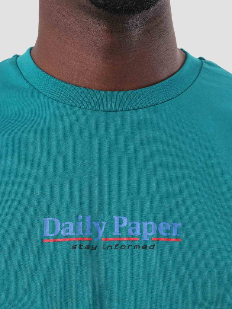 Daily Paper Daily Paper Duk T-Shirt Dark Petrol 18F1TS02