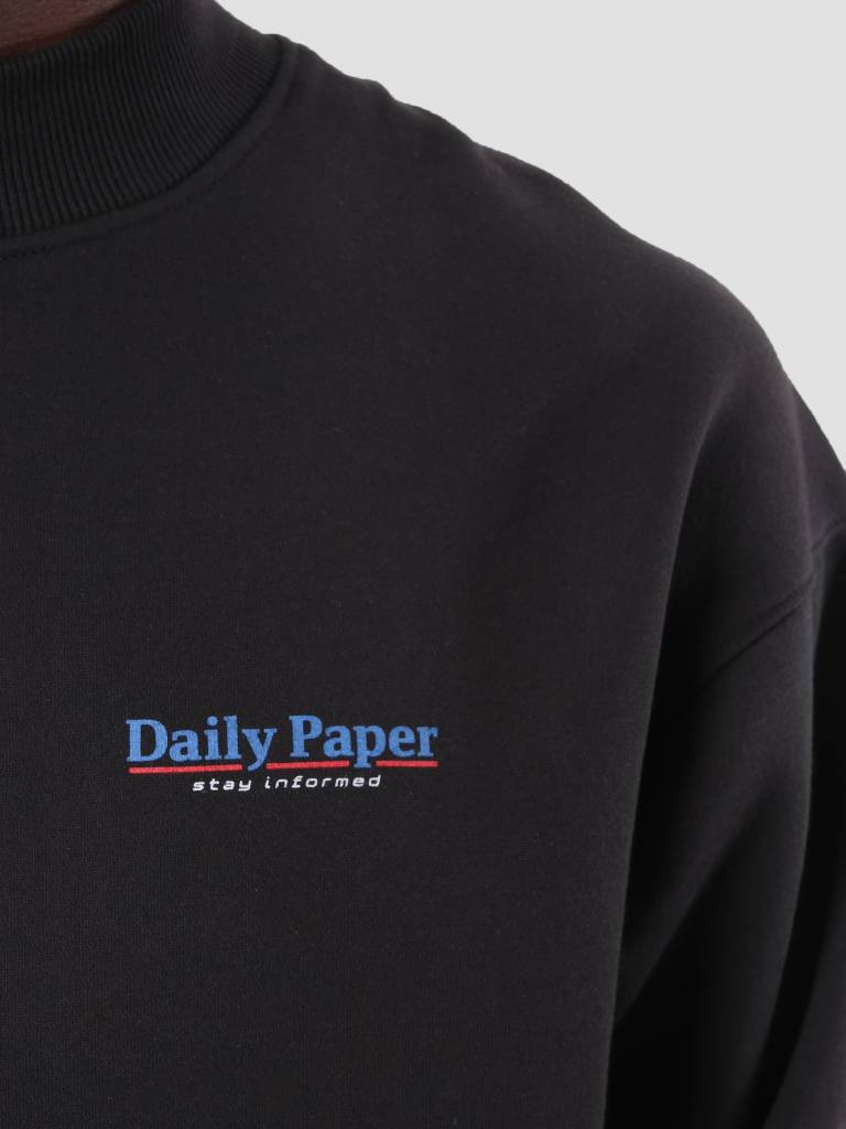 Daily Paper Daily Paper Dima Crew Black 18F1SW04
