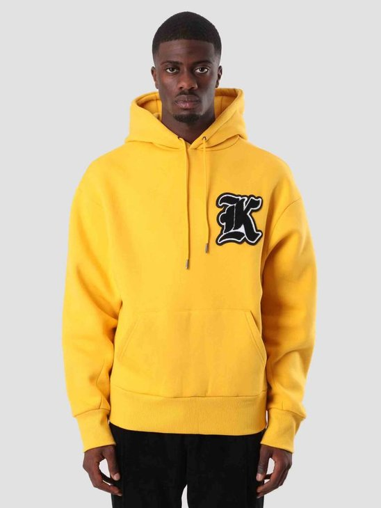 Daily Paper Dalis Hoodie Yellow 18F1HD07