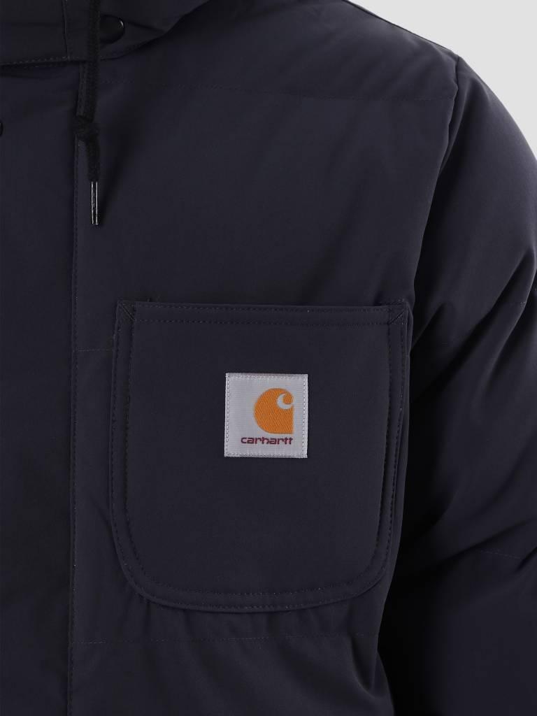 Carhartt Carhartt Alpine Coat Dark Navy Hamilton Brown I023081-1C90