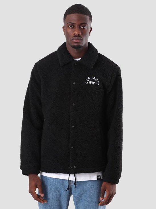 Carhartt Arch Coach Jacket Black I025114-8900