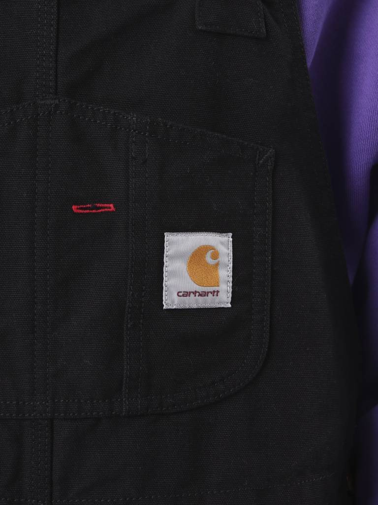 Carhartt Carhartt Bib Overall Rinsed Black I025148
