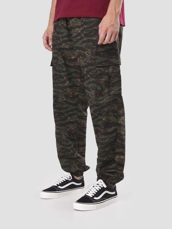 Carhartt WIP Cargo Jogger Rinsed Camo Tiger Jungle I025932