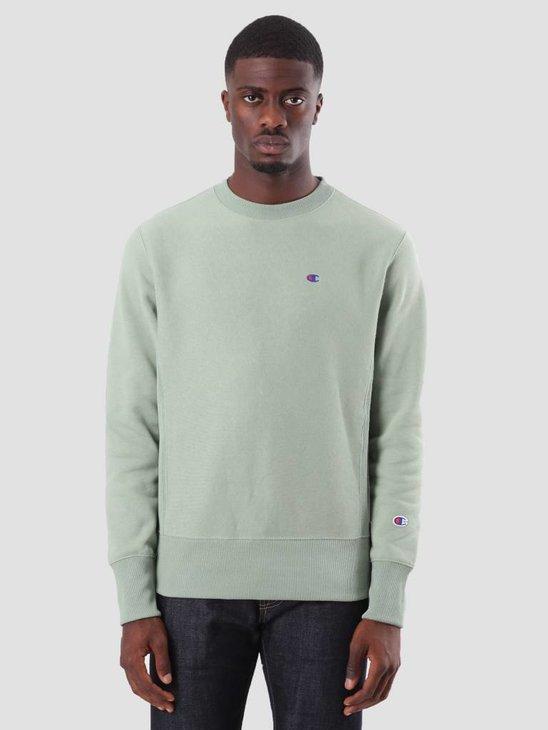 Champion Crewneck Sweatshirt Green GEB GS039 212572