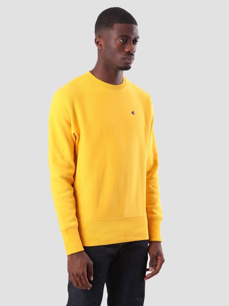 Champion Champion Crewneck Sweatshirt Yellow CUY YS026 212572