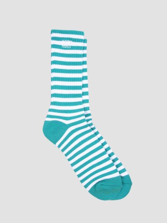 Obey Dale Socks Pine White 100260119