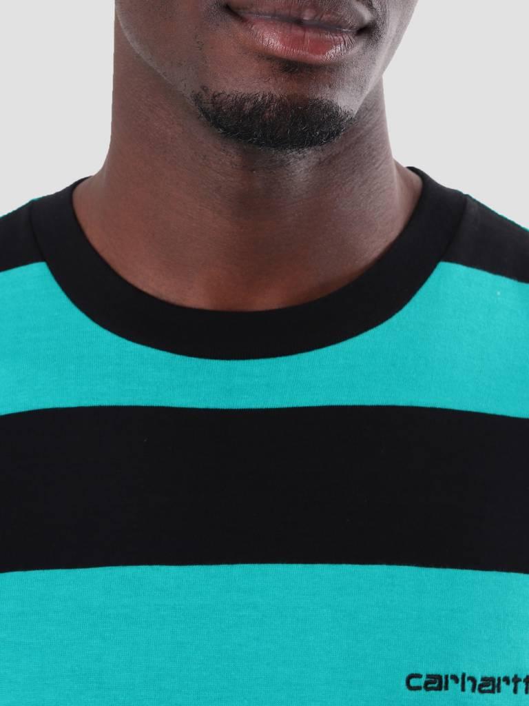 Carhartt Carhartt Roslyn Longsleeve Stripe Black Cauma I026058-8993