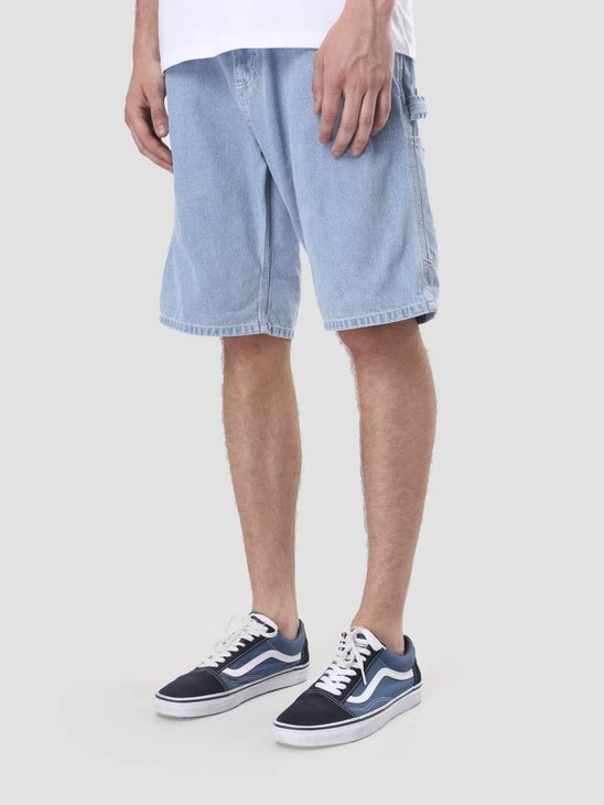 Carhartt Ruck Single Knee Short Stone Bleached Blue I022950-112