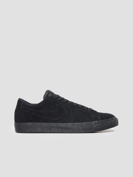 Nike SB Zoom Blazer Low Black Black-Gunsmoke 864347-004