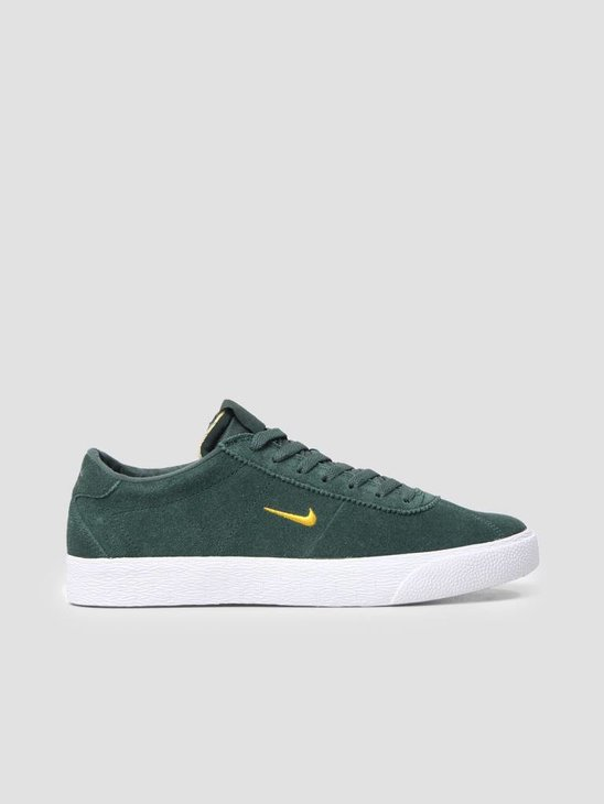 Nike SB Zoom Bruin Midnight Green Yellow Ochre-White AQ7941-300