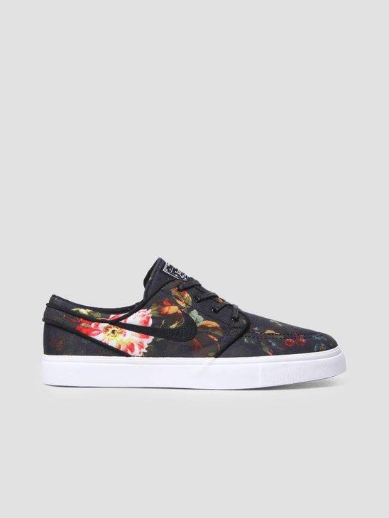 Nike SB Zoom Stefan Janoski Multi-Color Black-White-Gum Light Brown 615957-900