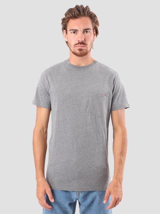 RVLT Sverre Printed T-Shirt Grey 1954