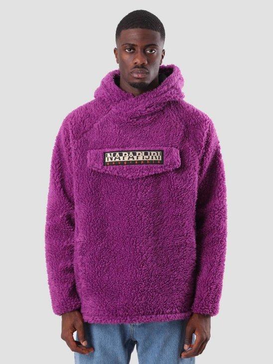 NAPAPIJRI Telve Sweater Mid Purple N0YHUEV44