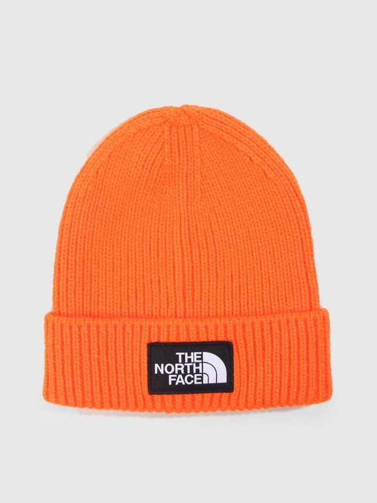 The North Face TNF Logo Box Cuff BE Persian Orange