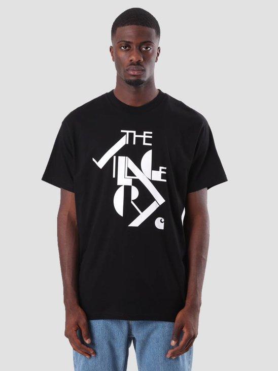 Carhartt TVC Logo T-Shirt Black White I025308-8990