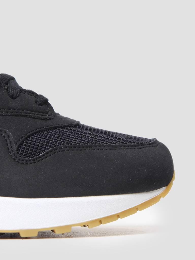 Nike Nike Womens Air Max 1 Shoe BlackBlack-Gum Light Brown 319986-037