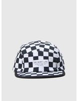 The Quiet Life The Quiet Life Checker 5 Panel Camper Hat All Over 18FAD1-1202-ALLOVER
