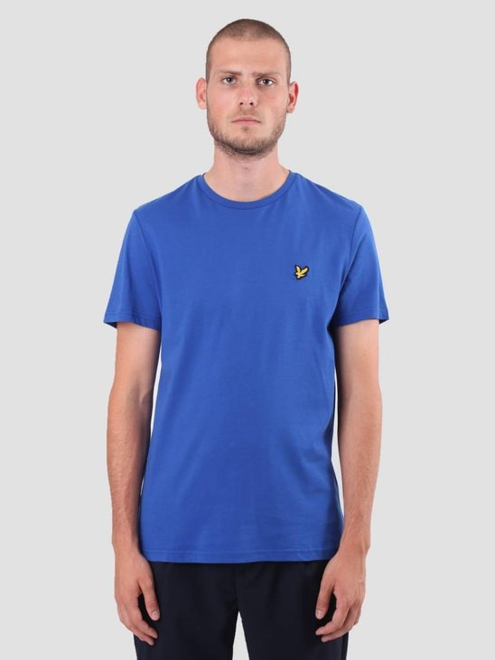 Lyle and Scott Crew Neck T-Shirt Duke Blue TS400V