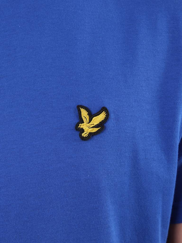Lyle and Scott Lyle and Scott Crew Neck T-Shirt Duke Blue TS400V