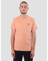 Lyle and Scott Lyle and Scott Crew Neck T-Shirt Dusky Coral TS400V