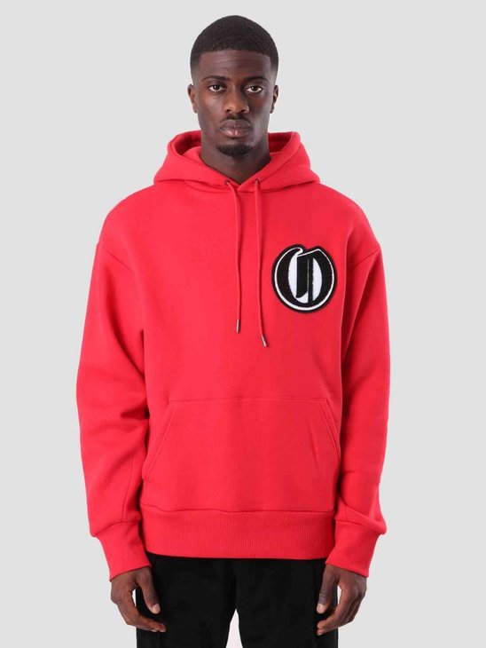 Daily Paper Dalis Hoodie Red 18F1HD07