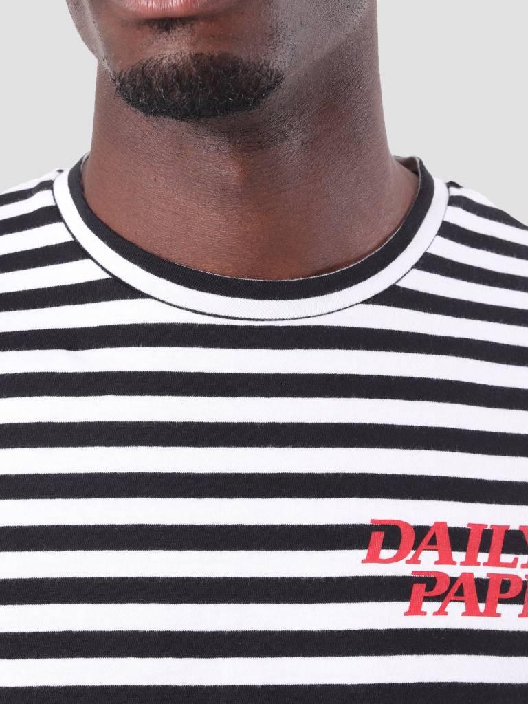 Daily Paper Daily Paper Daso Longsleeve Black White Stripe 18F1TL17
